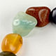 Mixed Classic tumbled stone bracelet